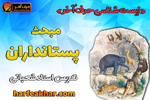 آموزش مبحث پستانداران