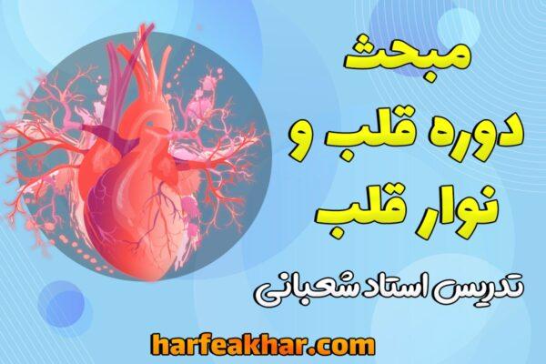 آموزش مبحث قلب